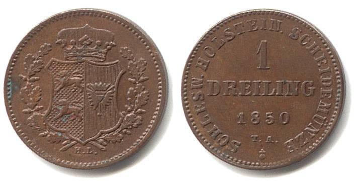 Mønter fra Kong Frederik VII, Den sidste Oldenburger