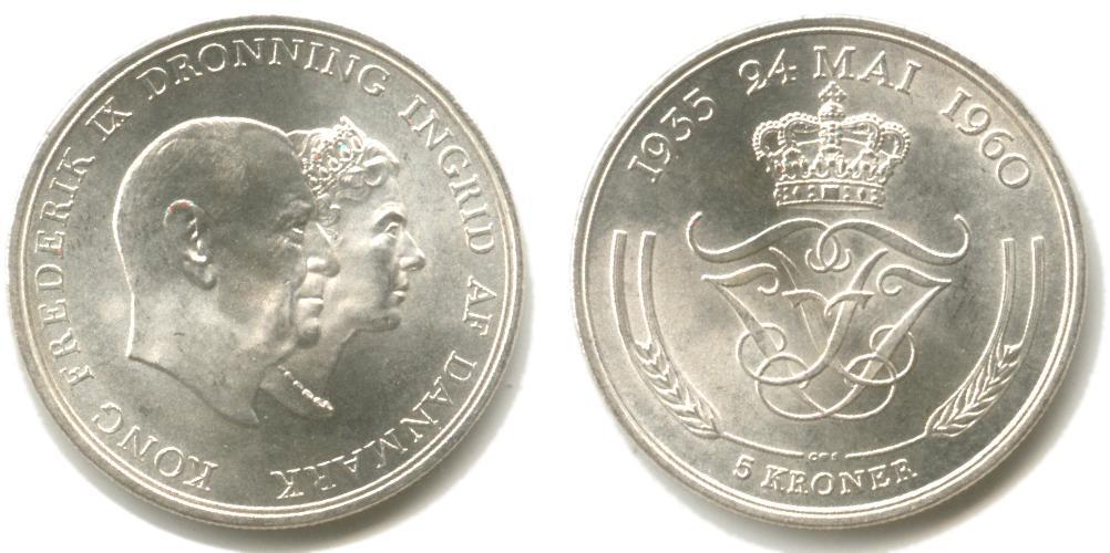 Dronninger, prinser og prinsesser på danske mønter