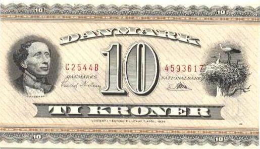 10 krone seddel 1936