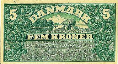 gyldige danske sedler